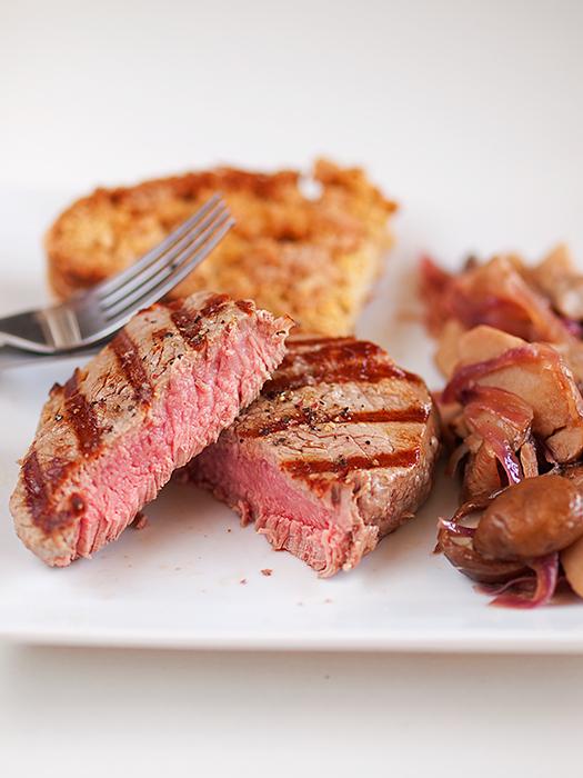 Biftek i vrganji